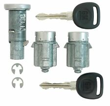 GMC Acadia - Ignition and Door Lock Cylinders with 2 Transponder Keys - NEW