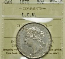 1870 LCW Canada 50 cents ICCS VF-30