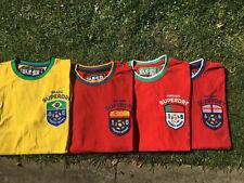 Superdry Mens Football Rugby Tshirts Stag Do? Medium X 4 Look Brazil England