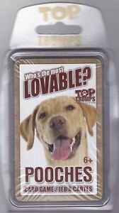 Card Game Top Trumps POOCHES Family Fun Playing Cards