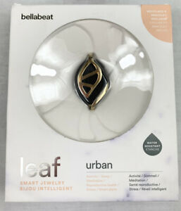 Bellabeat Leaf Urban Smart Jewelry Health Tracker Bracelet with band/necklace