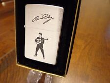 ELVIS PRESLEY PLAYING GUITAR ZIPPO LIGHTER MINT IN BOX 1994 RARE
