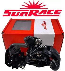 Sunrace RDMS30 Rear Derailleur Fit 10-11 Spd Shimano / 12 Speed SRAM MTB