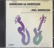 JOEL HARRISON - harrison on harrison CD