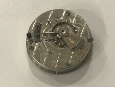 Very Rare Elgin 18s 21j Grade 346 Railroad Pocket Watch Movement Running Strong