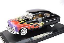 Mercury COUPE 1949'49 CUSTOM HOT ROD FLAMMES MotorMax 76618 1:24 nouveau modèle