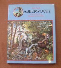 JABBERWOCKY - Lewis Carroll illustrated Graeme Base -1st HCDJ 1989 looking glass