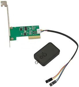 32Bit PCI 2.4G Wireless Switch Turn On/Off Desktop Computer Remote Control PC