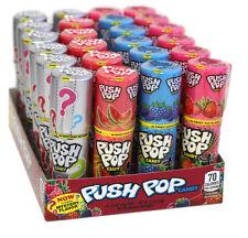 24 Push Pop Assorted Lollipop Candy