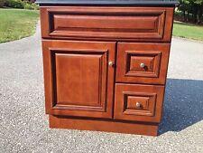 30 x 21 Brandywine Maple Bathroom Vanity Cabinet Only