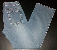 2171p BANANA REPUBLIC Blue Sz 8 32x31 Stylish Flared Blue Jeans!
