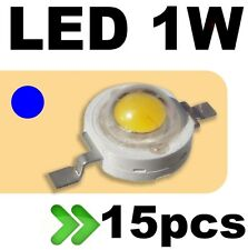 537/15# LED 1W bleu --- 15pcs