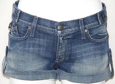 NEW Rock & Republic Ladies Simon Lowrise Shorts MODE MAYHEM BLUE/SIZE 30