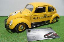 VOLKSWAGEN COCCINELLE Adac Strassenwacht 1/18 SOLIDO voiture miniature