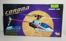 """Rare Vintage 2002 Lite Machines """"Corona"""" Model 120 Electric R/C Helicopter (New)"""