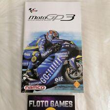 Notice de Moto GP 3 pour Playstation 2 PS2 PAL FR - Floto Games