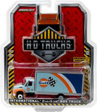 Greenlight 2013 International Durastar Gulf Oil Box Delivery Truck 1:64 33070-B