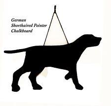 """German Shorthaired Pointer Regalo-único 12"""" hecho a mano perro raza en forma de pizarra"""