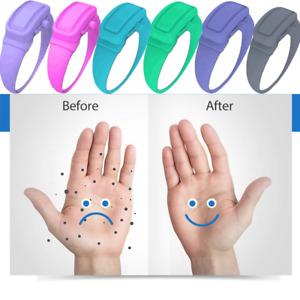 Wristband Sanitizer Dispensing Portable Bracelet Silicone Wristband Reusable
