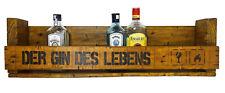 Gin des Lebens SHaBBY ViNTaGe PaLeTTeNReGaL Wandbar Weinregal Regal Palette Holz