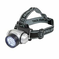12 LED Head Torch Beam Flash Light Lamp Headstrap Camping Outdoors Headlight
