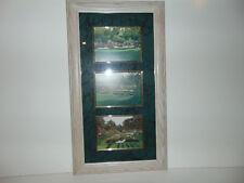 3 MASTERS AUGUSTA NATIONAL Framed GOLF PRINT 25 X 14 Nancy Raborn AMEN CORNER **