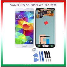 Vetro Touch Screen Samsung SM-G900F Galaxy S5 BIANCO LCD display G900F SCHERMO