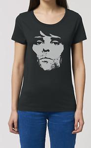 Ian Brown Ladies ORGANIC Cotton T-Shirt Music The Stone Roses New Top Gift Women