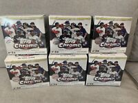 Lot of 6 2020 Topps Chrome Update Series Mega Box FACTORY SEALED MLB Baseball