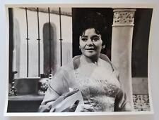 OPERA Original BBC Victoria de LOS ANGELES Press Photo 1968