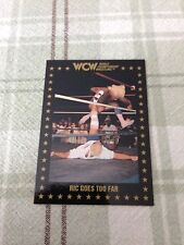 WCW Trading Cards 1991 Ric Flair Ric Goes Too Far #95 Single Ungraded