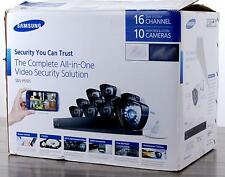Samsung SDS-P5101 16-Ch 1TB DVR Security System 600TVL Weatherproof Night Vision