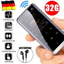 32GB MP3 Player Tragbarer Musik Spieler 1.5'' LCD Display FM Radio Diktiergerät