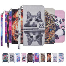 Case for iPhone 11 Pro Max 7 8 Plus 3D PU Leather Flip Wallet Stand Phone Cover