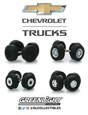 1:64 GreenLight *WHEEL & TIRE ACCESSORY PACK* CHEVROLET PICKUP TRUCK *NIP*