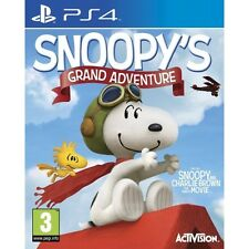 The Peanuts Movie Snoopy's Grand Adventure PS4 Game - Brand New!