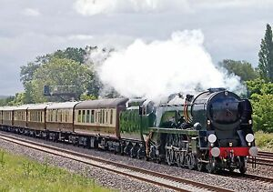 Steam Train Birthday Card Engine Locomotive Ideal for Dad Grandad Son & FREEPOST
