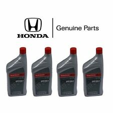 4 Quarts Genuine Honda / Sterling ATF DW-1 Automatic Transmission Oil Fluid DW1