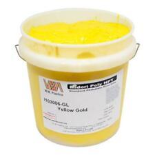 Yellow Gold Plastisol Ink Quart