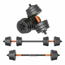 Gym Equipment Weight Set 2 in1 Adjustable Barbell Dumbbell Dual-Use Arm Exercise