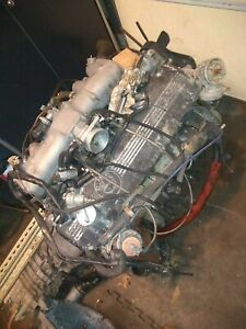 BMW M30 intake manifold injectors and rail only