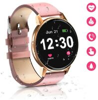 Bluetooth Smartwatch for Women,IP68 Waterproof with 1.3 Inch Full Touch Screen,