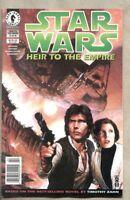 Star Wars Heir To The Empire #2-1995 fn+ 6.5 Dark Horse Newsstand Variant