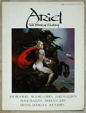 ARIEL BOOK OF FANTASY 2 ~ Le Guin MOORCOCk Frazetta JONES Roberts ELLISON ~ SC