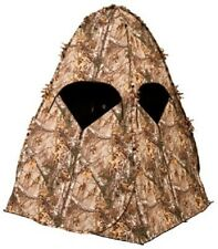 Ground Blind Hunting Tent Bowhunting Crossbow Realtree Xtra Camouflage Enclosure