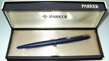 "PARKER "" 45  T X "" in  BLUE BALLPEN! NOS ! UNUSED in ORIGINAL BOX ! VINTAGE ! !"