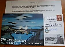 More details for dambuster wing commander danny walker dfc signed dambusters cover