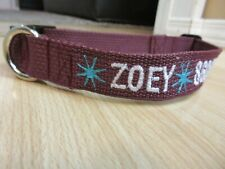 Personalized Dog Collar with Your Dogs Name Phone Number and Stars Design