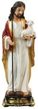 THE GOOD SHEPHERD - JESUS - 125mm STATUE CRUCIFIXES CANDLES PICTURES LISTED 935