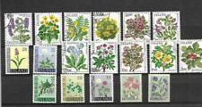 Iceland - Flower stamps - Mint & Used